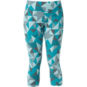 Mountain Equipment Cala Crop Leggings Mujer, chalk blue